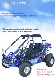TrailMaster 300 XRX User / Parts Manual